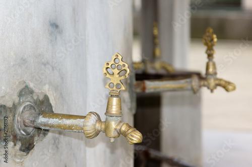Fotografija  fontaine d'une mosquée de l'architecte Sinan