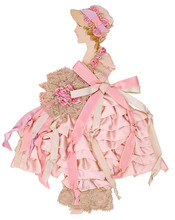 Southern Belle Ribbon Fashion Doll