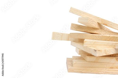 Fotografie, Obraz  Pine boards