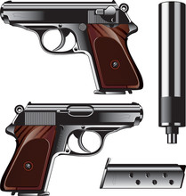 German Pistol Created For Krim...