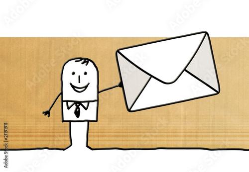 Fotografía  enveloppe mail
