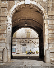 FototapetaDucal Palace. Giovinazzo. Apulia.