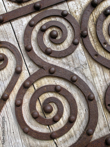 Spoed Fotobehang Spiraal Spirale