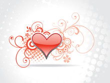 Heart Background Art