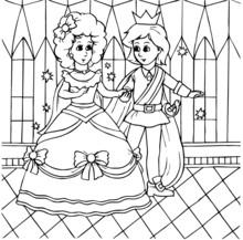 Cinderella Dancing With Prince