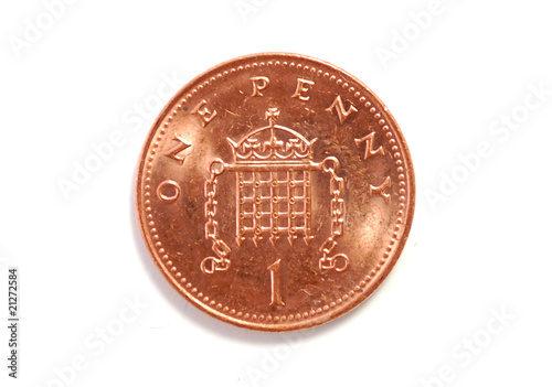 Fotomural Penny isolated