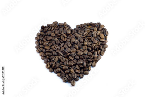 Recess Fitting Coffee beans amour de café