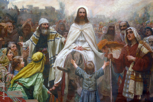 Jesus on Palm Sunday #21304507