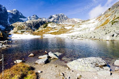 Photo  Zbojnicke Tarn, Vysoke Tatry (High Tatras), Slovakia