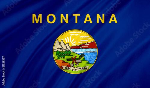 Fototapeta montana flag obraz