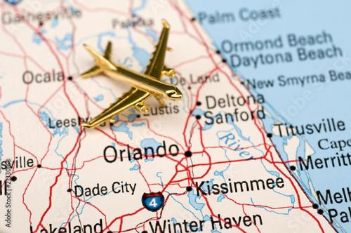 Plane Over Central Florida