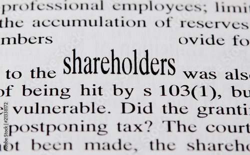 Shareholders Canvas Print