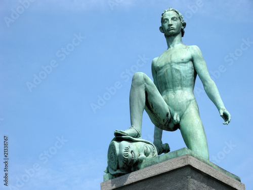 Fényképezés  Statue in Zürich