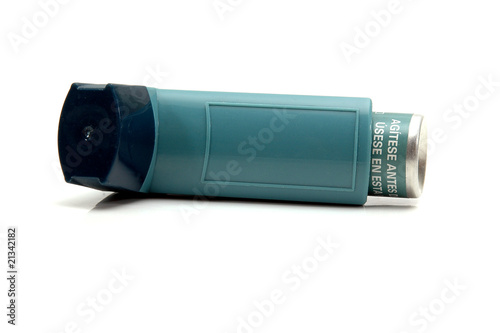 Photo Aerosol inhaler for asthma