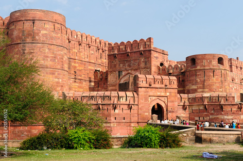 Red Fort in Agra Canvas Print