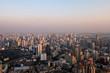 aerial view over Bangkok