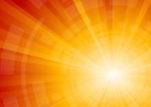 Vector Bright Sunny Background