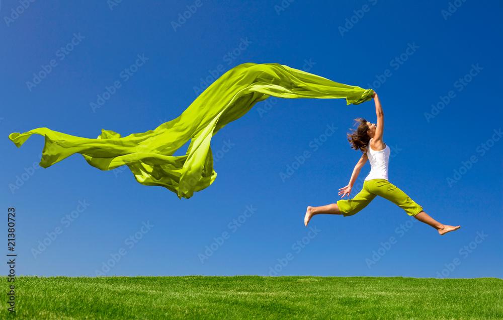 Fototapeta Jumping