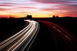 carretera de colores