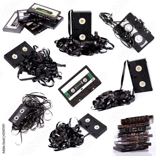 Fotografie, Obraz  cassette mix