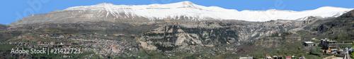 Wall Murals Nepal Mount Lebanon und Kadisha-Tal im Libanon