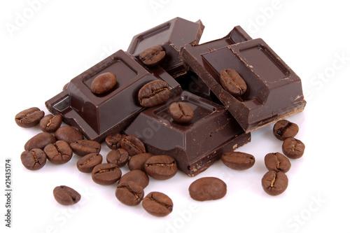 Deurstickers koffiebar Cioccolato