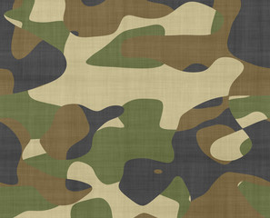 jungle camouflage fabric