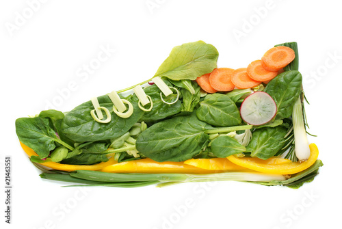 turnschuh salat
