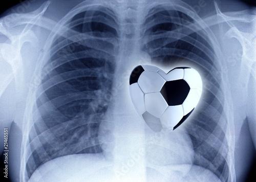 Fussball Herz