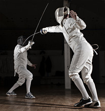 Épée Swordsmen Fencing.