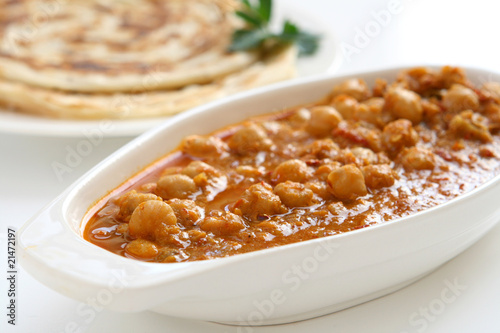 Fotografie, Obraz  Indian Chickpea Curry
