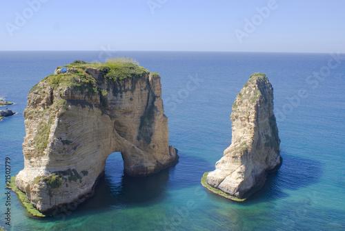 Fototapeta premium Rouche Lebanon