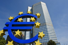 European Central Bank With Eur...