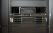 Front of professional server with bay hard disk and save system