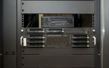 Front Of Professional Server W...