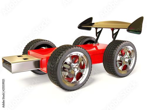 Photo  flash car