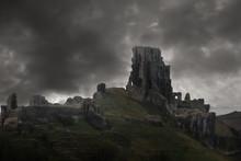 Storm Above Castle Ruins