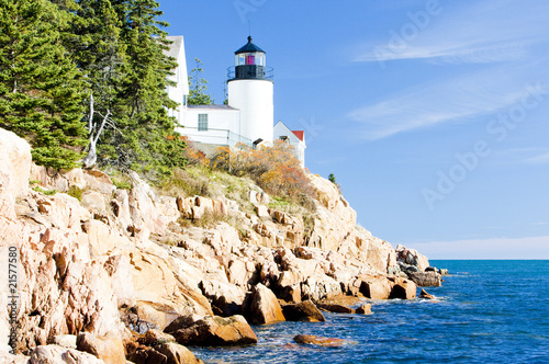Fotografie, Obraz  Bass Harbor Lighthouse, Maine, USA