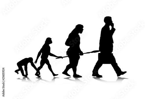 Fotografie, Obraz  Human Evolution