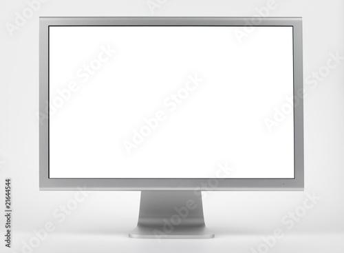 Fotografie, Obraz  Monitor alu,isoliert mit pfaden