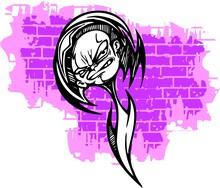 Graffiti -Teenager..