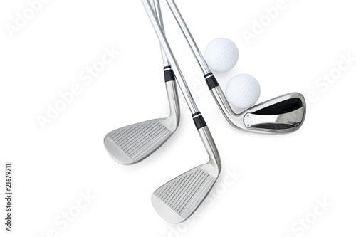 Fotografie, Obraz  Golf Clubs
