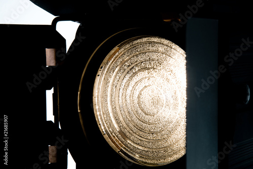 Fresnel light with barn doors Fototapet