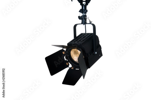 Vászonkép Fresnel video light
