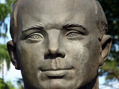 Photo  Major Juri Alexejewitsch Gagarin, Held der Sowjetunion