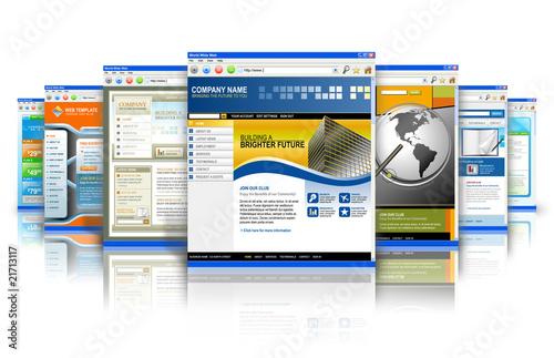 Fotografía  Technology Internet Websites Reflection