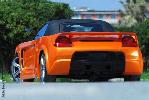 Photo Stands Fast cars auto posteriore tuning