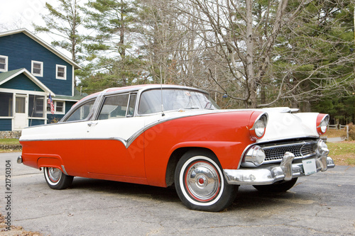 Wall Murals Old cars antique automobile, New Hampshire, USA