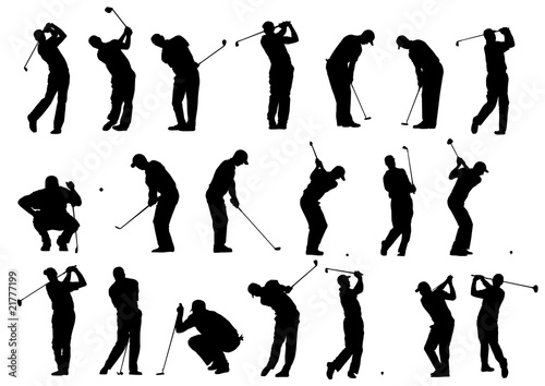 Golf Silhouettes Buy This Stock Vector And Explore Similar Vectors