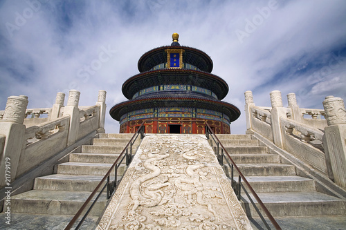 Foto op Aluminium Beijing Temple of Heaven under blue sky